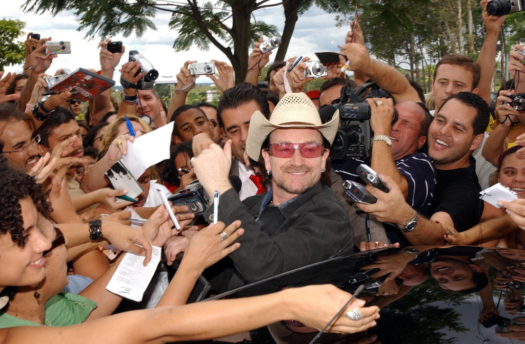 Bono's fans love how he runs with what he knows.